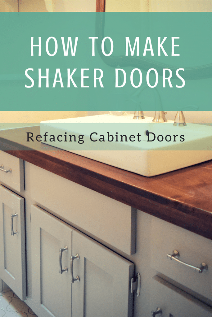 Cabinet Refacing – How To Make Shaker Doors