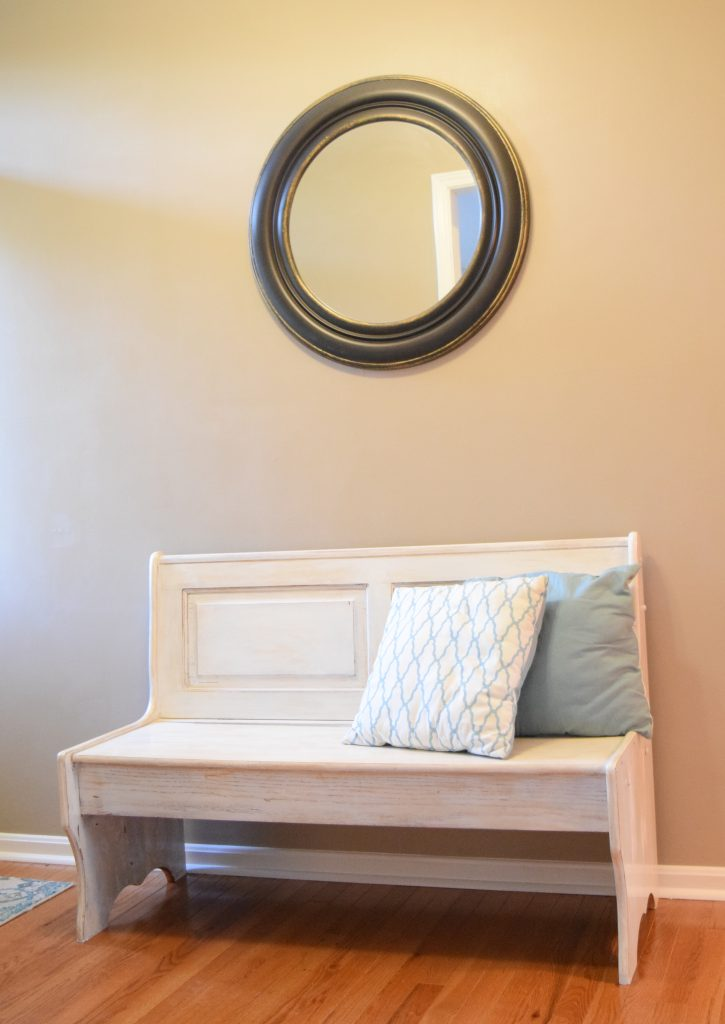 Staging an Entryway - Paint in Mega Greige