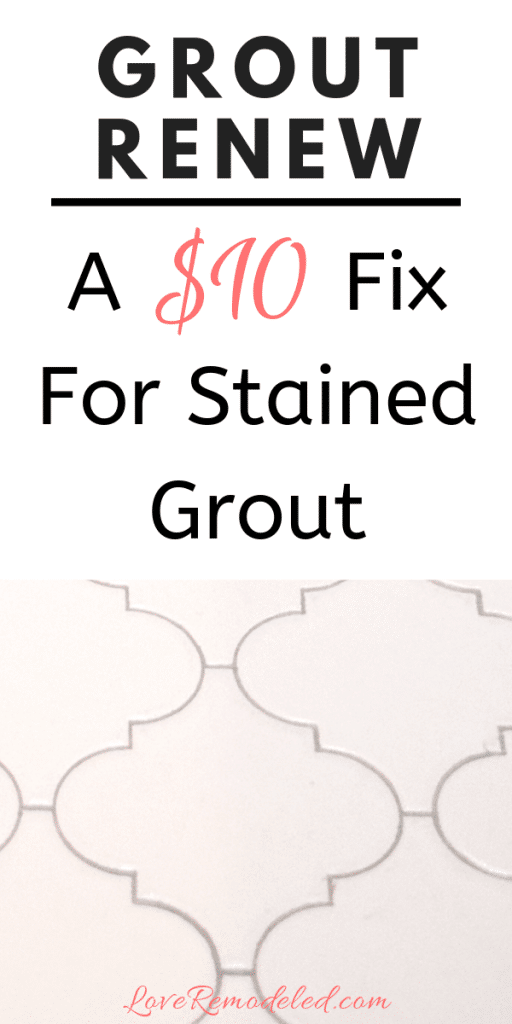 Fix Old and Stained Grout