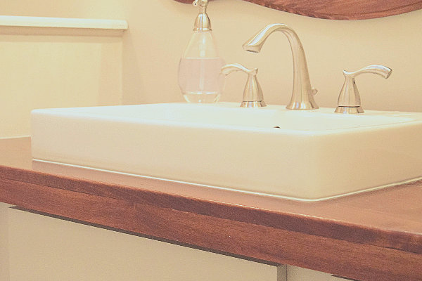Making A Farmhouse Bathroom Vanity Top Love Remodeled