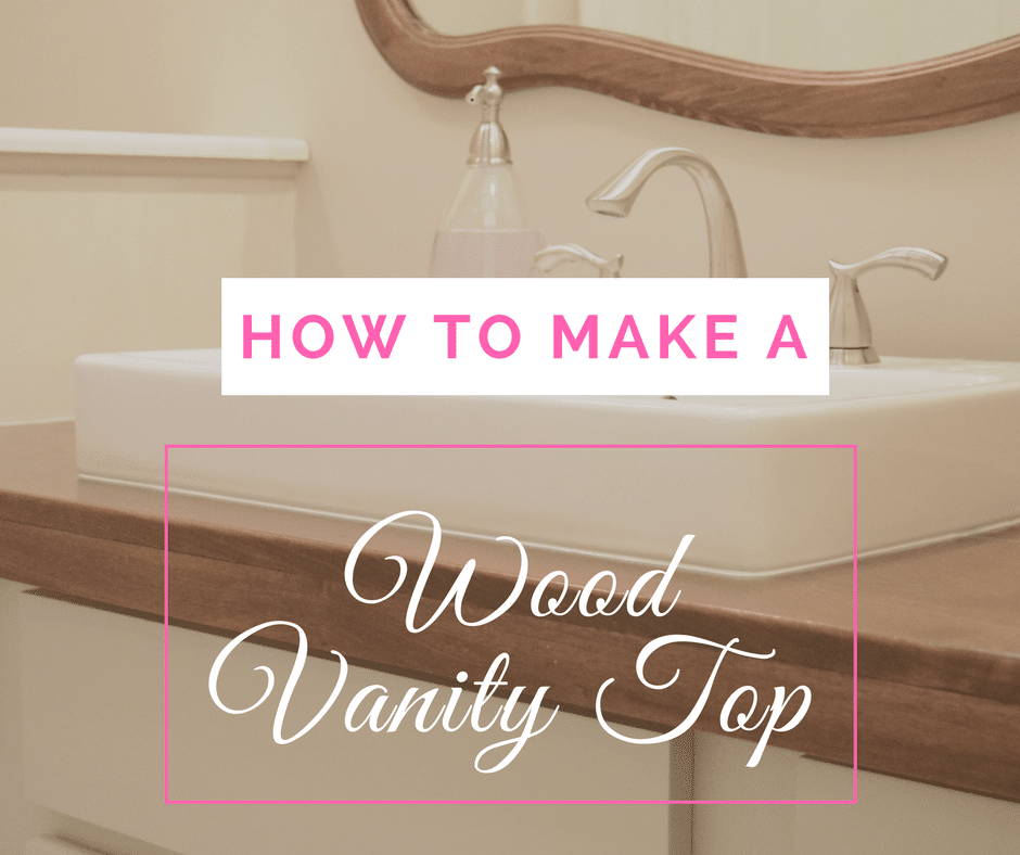 2038 Best Images About Bathroom Love On Pinterest: Making A Farmhouse Bathroom Vanity Top