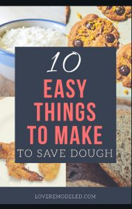 Save money by making these things -easy!
