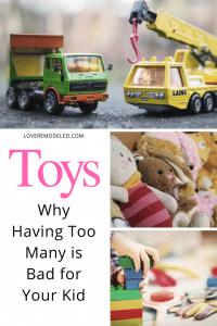 does clutter affect children