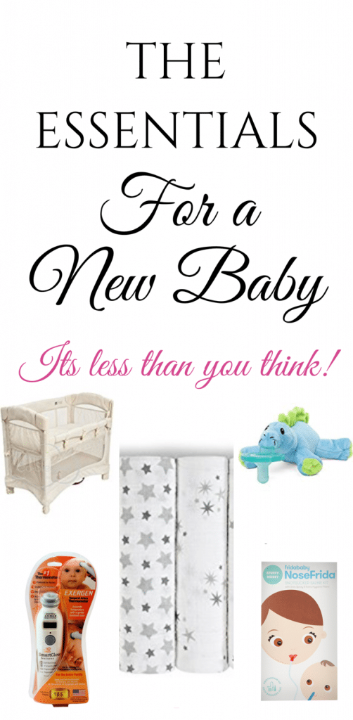 What You REALLY Need For A Baby