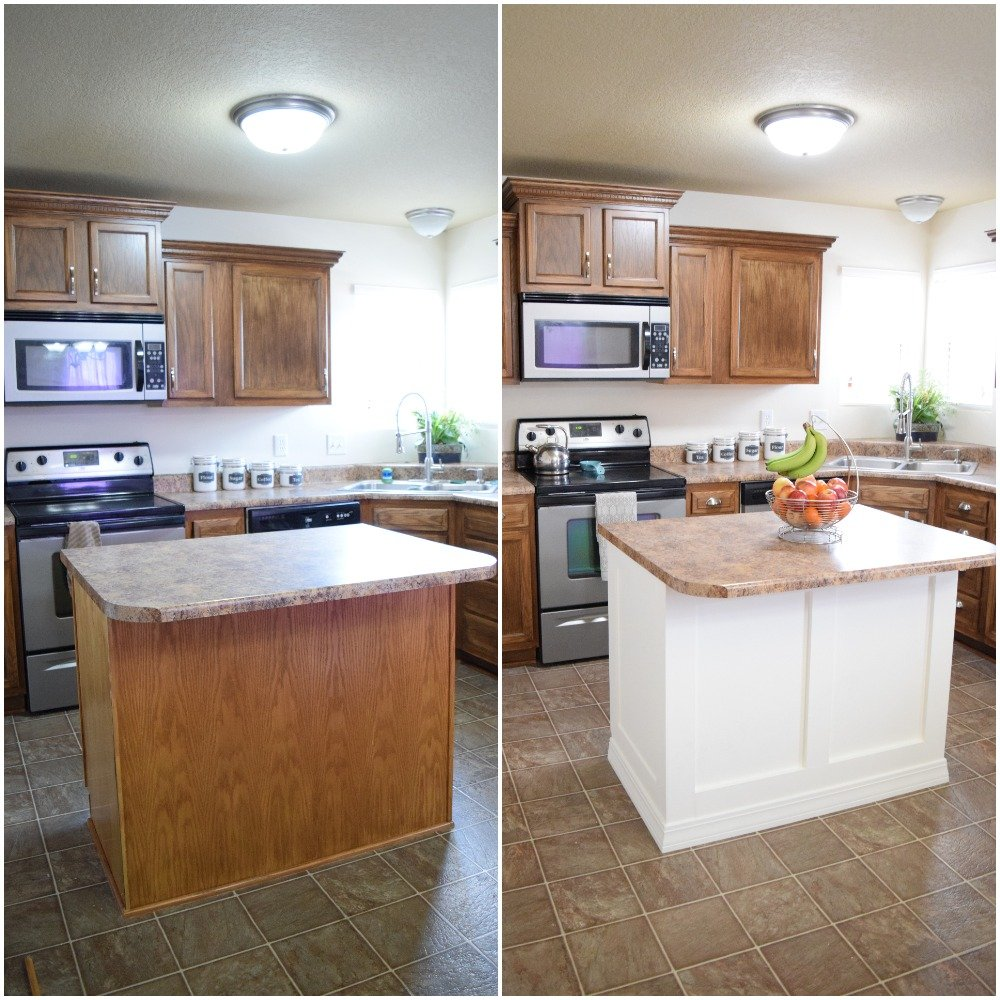 Upgrade Builder Grade Kitchen Island