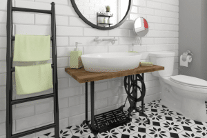 Ten Eye-Catching Farmhouse Bathroom Ideas