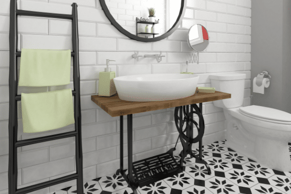 Beautiful farmhouse bathroom decor for your home.