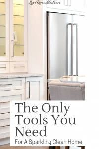 The only five tools you need to clean your house from top to bottom!