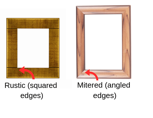 different styles of mirror frames