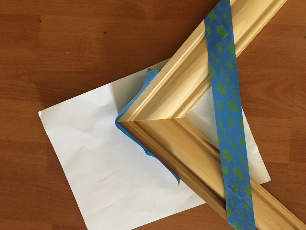 Affixing the Corners of a frame