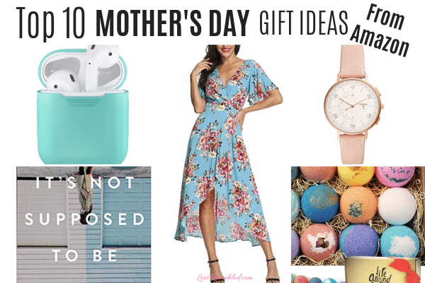 Top Ten Mother's Day Gifts from Amazon