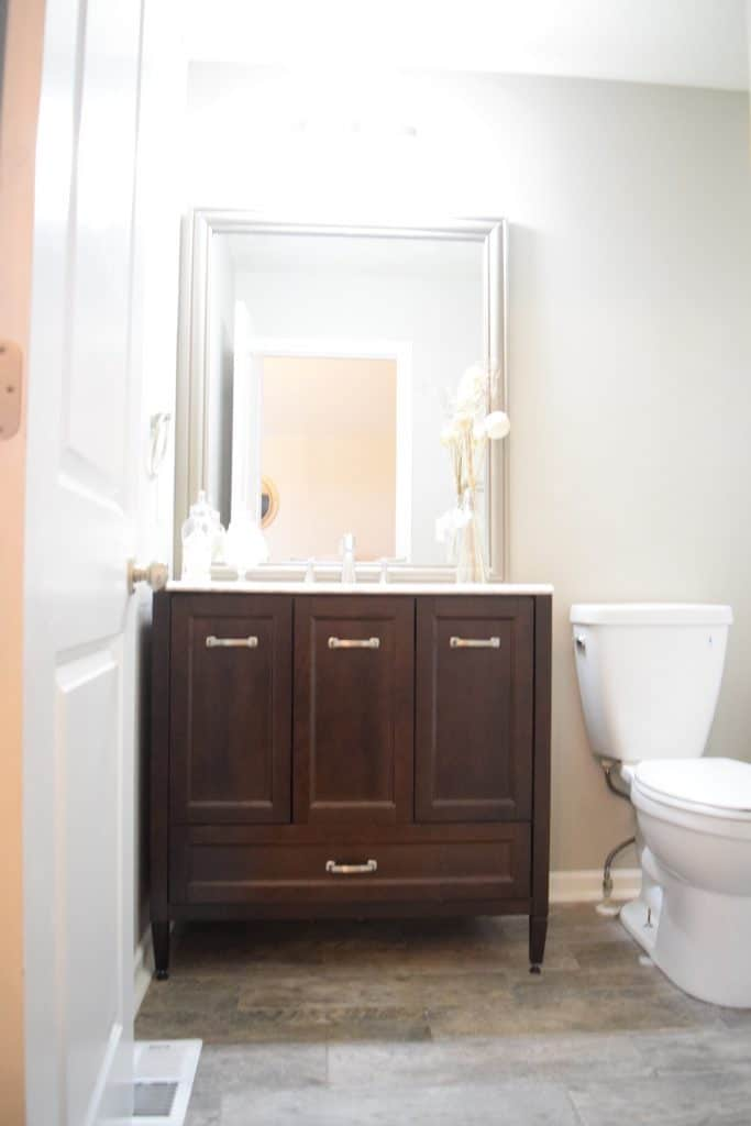 staging a bathroom to sell your house fast