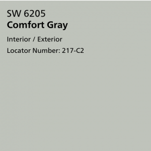 Comfort Gray - Coordinating Color for Agreeable Gray