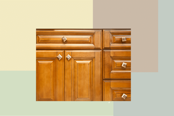 Honey Oak Cabinets: Wall Paint Colors