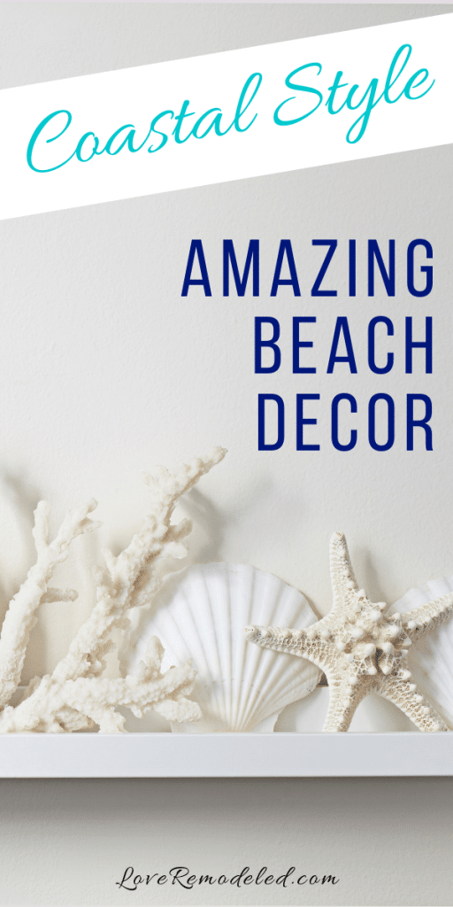 Gorgeous beach decor for any home!