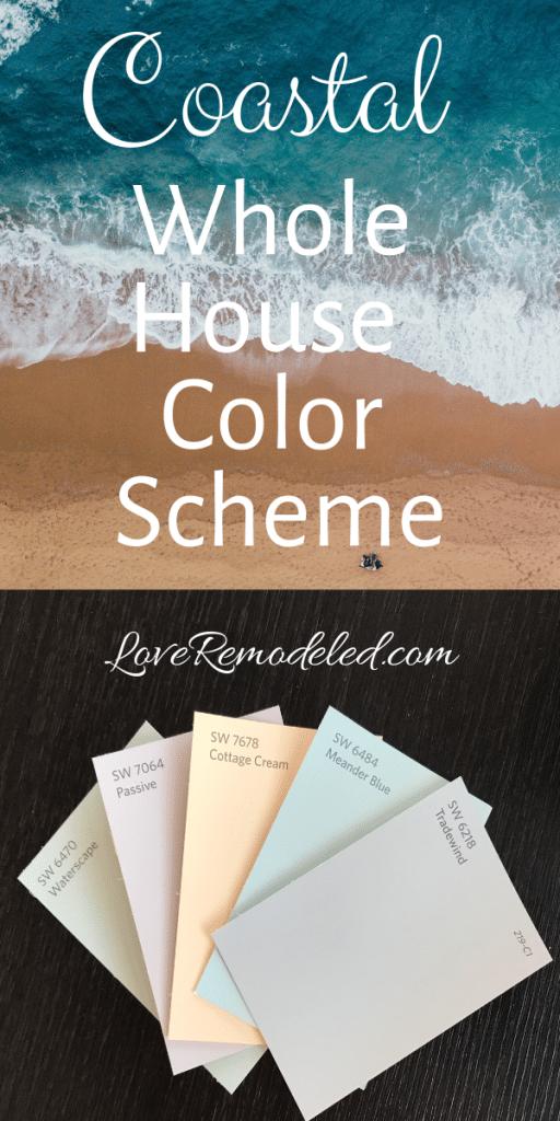 A Beach House Paint Scheme