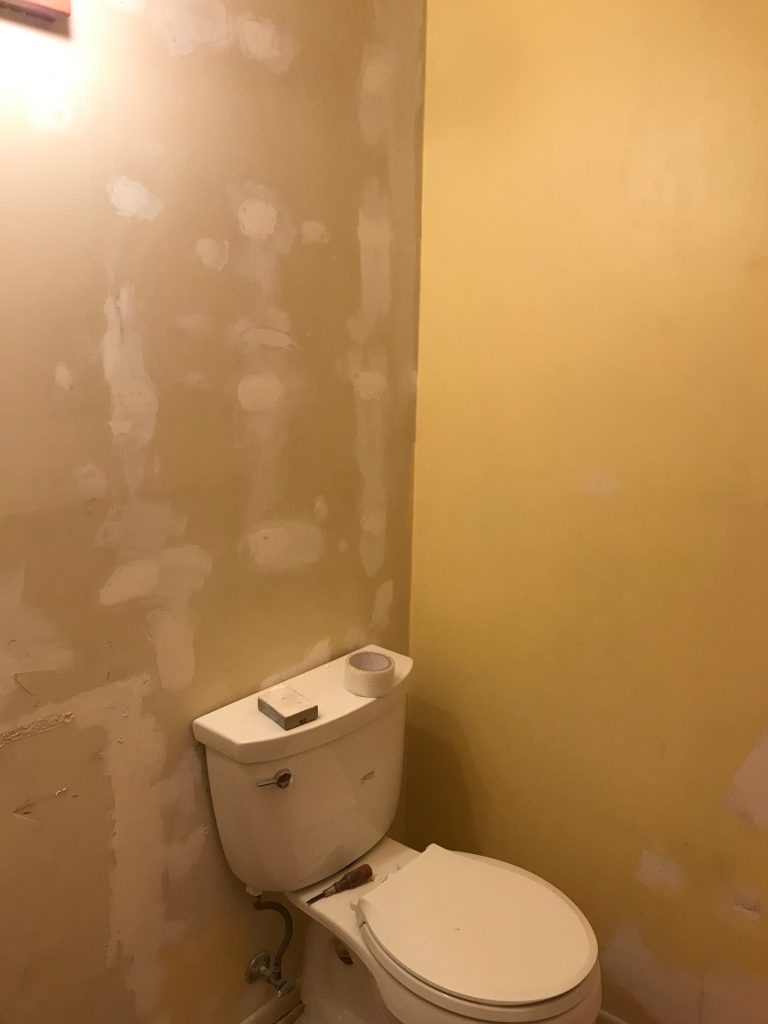 Repair the Walls with Spackle After Removing Wallpaper