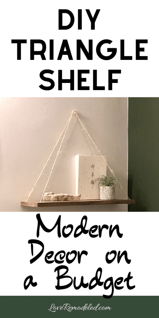 Modern Shelf How To
