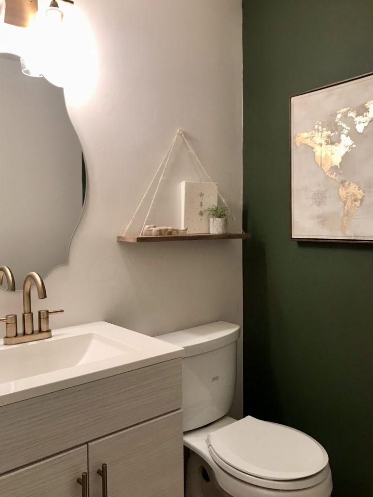 Boho Bathroom Reveal