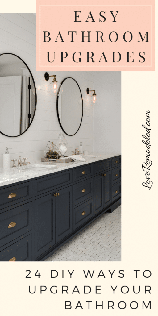 24 Simple Ways to Upgrade Your Bathroom