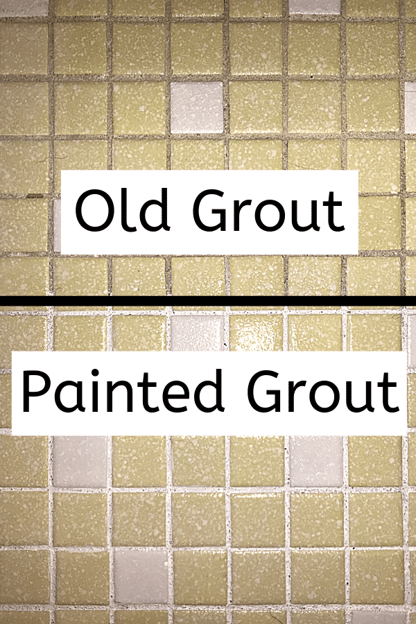 Update Your Bathroom by Painting Your Grout