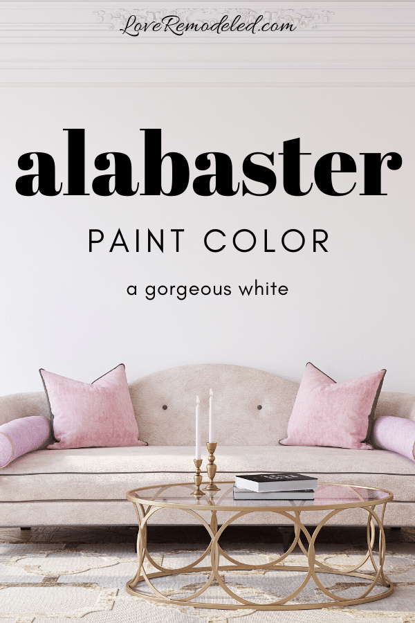 Sherwin Williams Alabaster Paint Color
