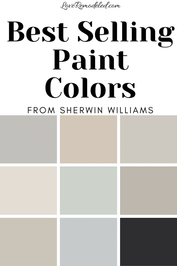 Sherwin Williams' Top Paint Colors