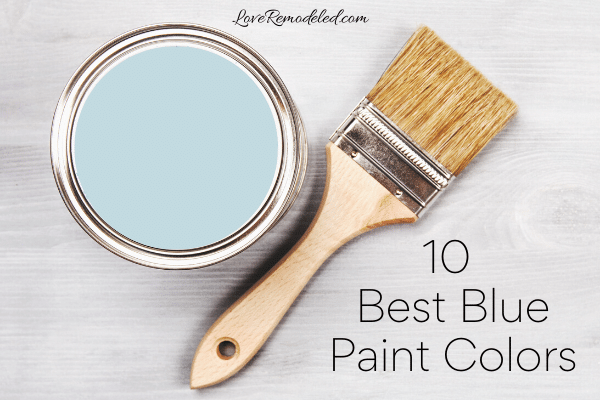 Top 10 Blue Paint Colors from Sherwin Williams