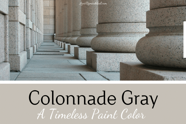 Sherwin Williams Colonnade Gray Paint Color