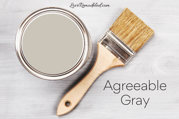 Agreeable Gray Paint