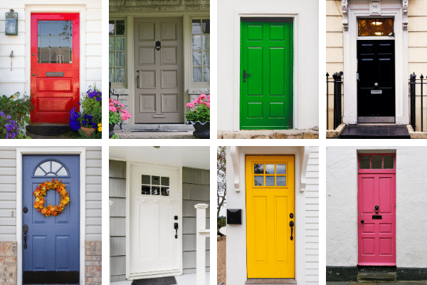 12 Amazing Front Door Colors