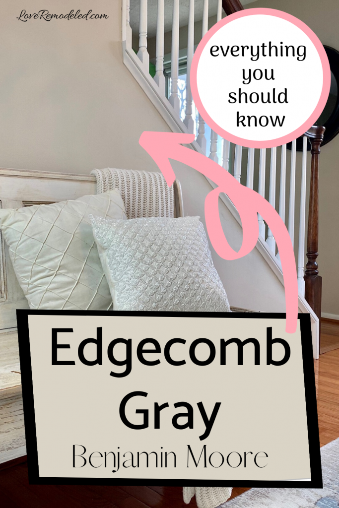 BM Edgecomb Gray