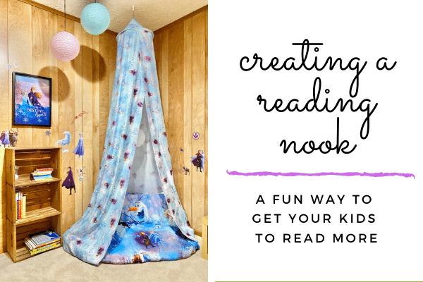 make a reading corner
