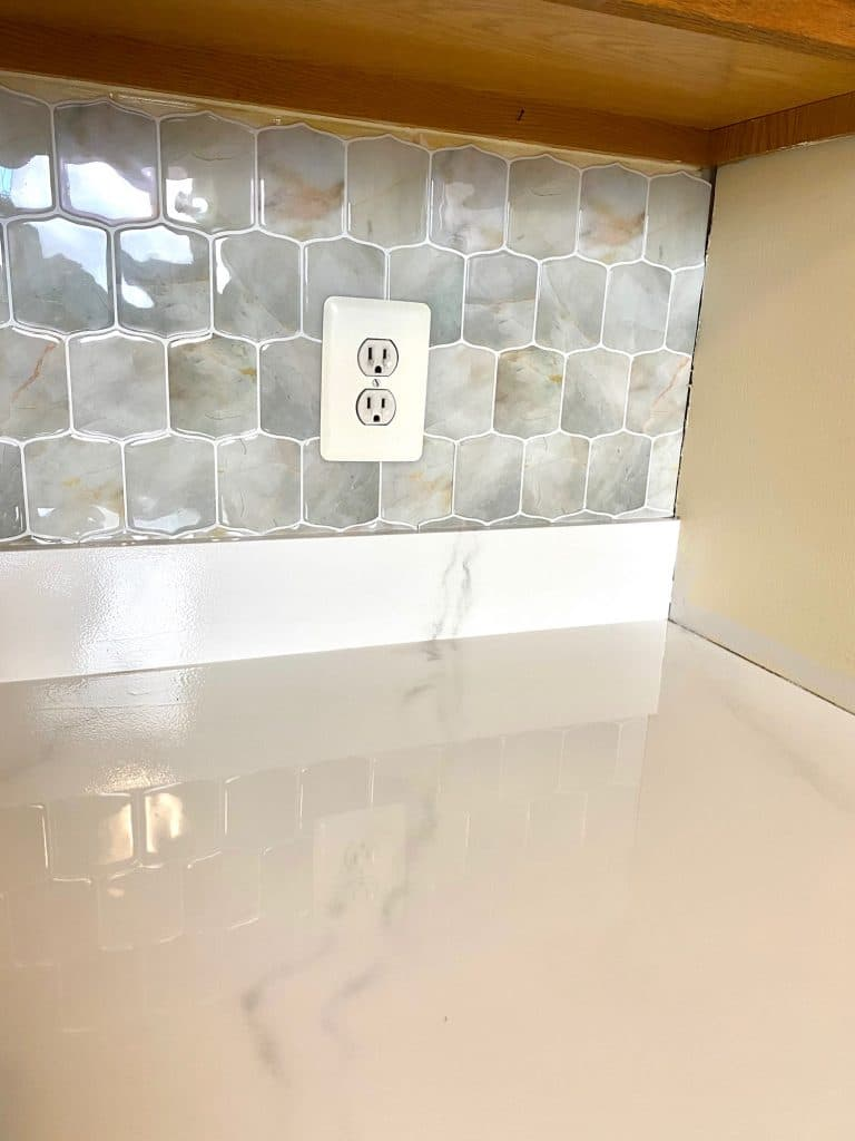 DIY Painted Countertops