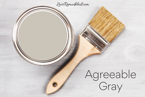 Agreeable Gray Paint Color