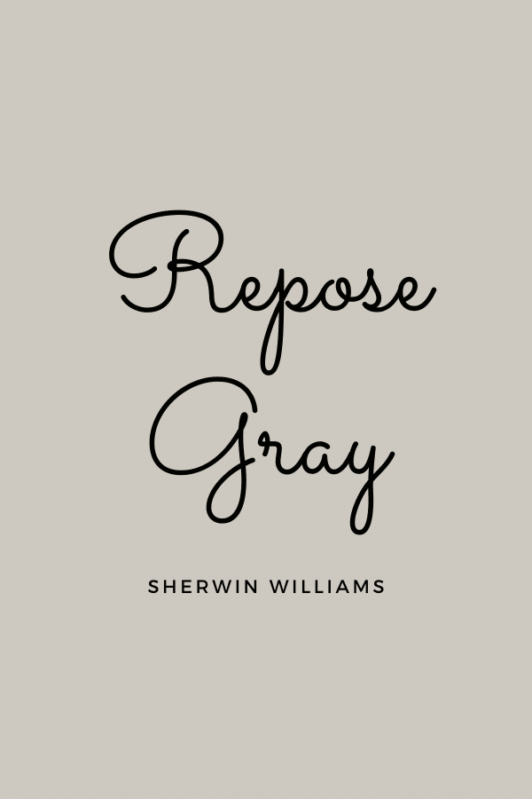 Repose Gray Paint Color