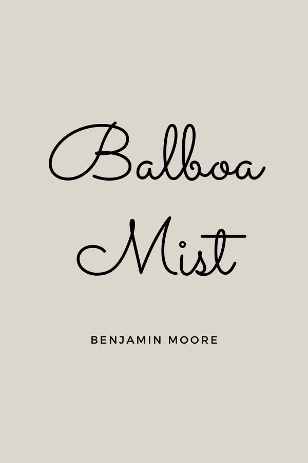 Balboa Mist Greige