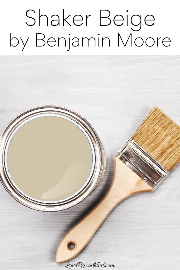 Shaker Beige Paint Color