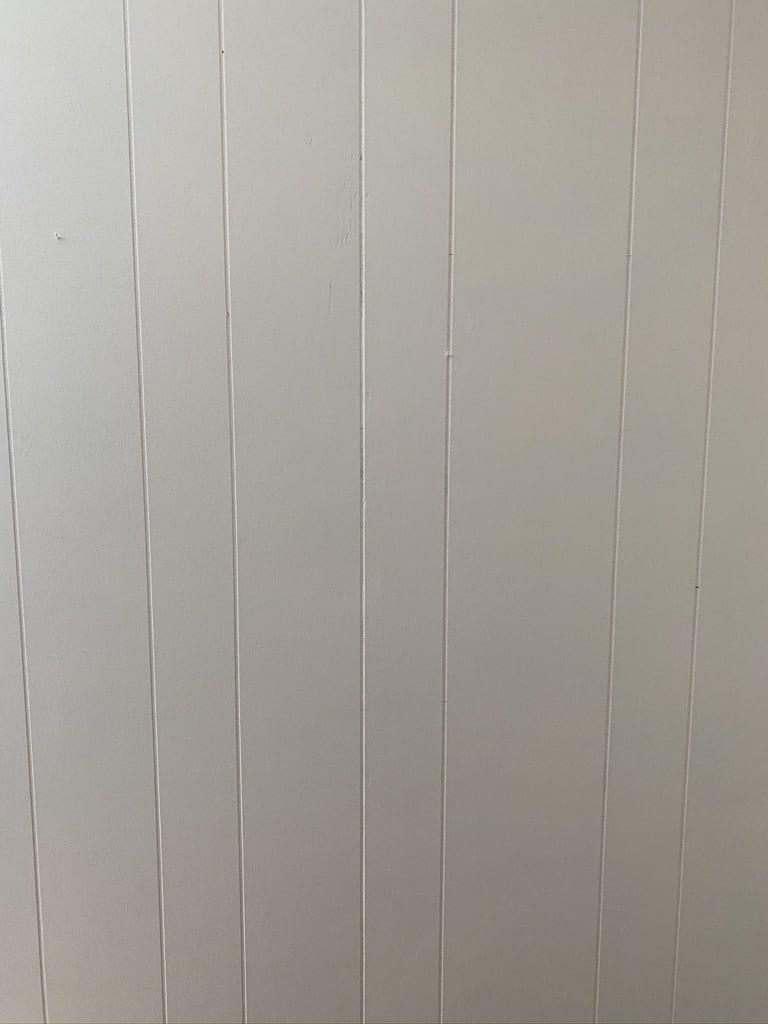 Primed Wood Paneling
