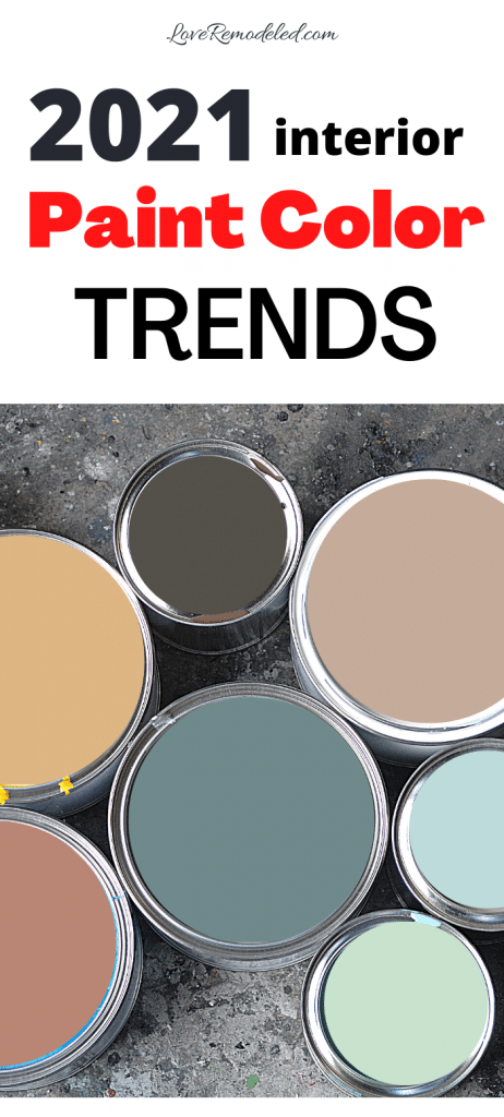 The Top Paint Colors for 2021