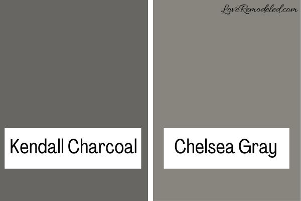 Kendall Charcoal vs. Chelsea Gray