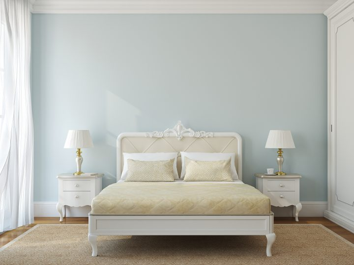 Best Wall Colors for a Bedroom - blue/green