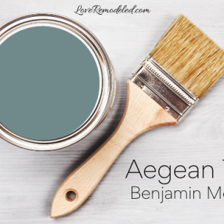 Aegean Teal Color Review