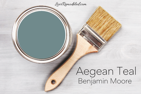 Color Review of Aegean Teal