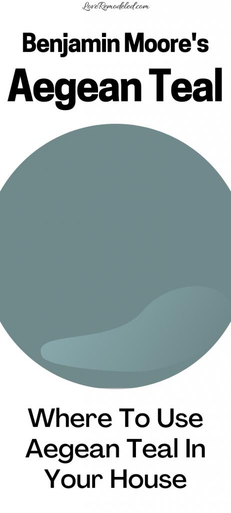 Aegean Teal Color Spotlightt