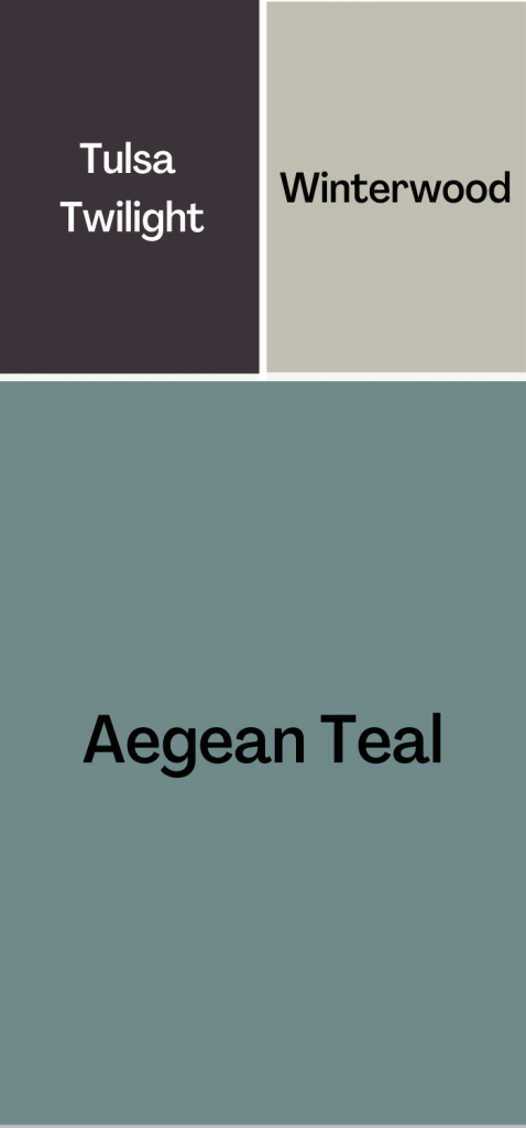 Aegean Teal Color Palette - bold look