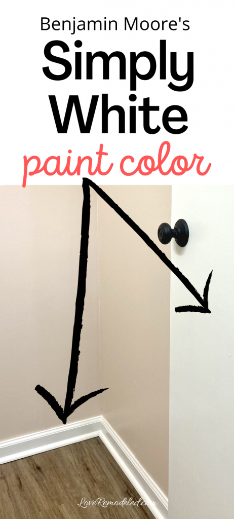 Simply White Paint Color
