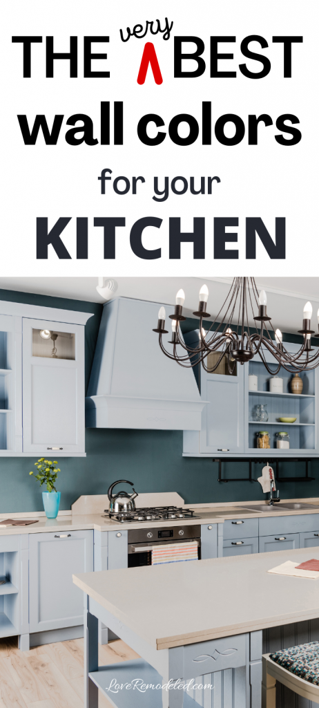 wall colors for kitchens