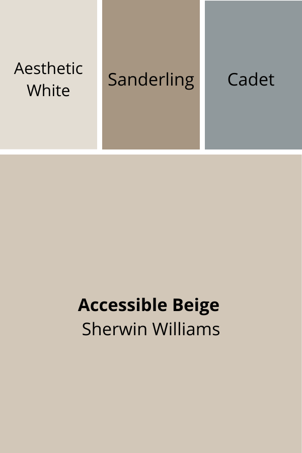 Complimentary Colors for Accessible Beige