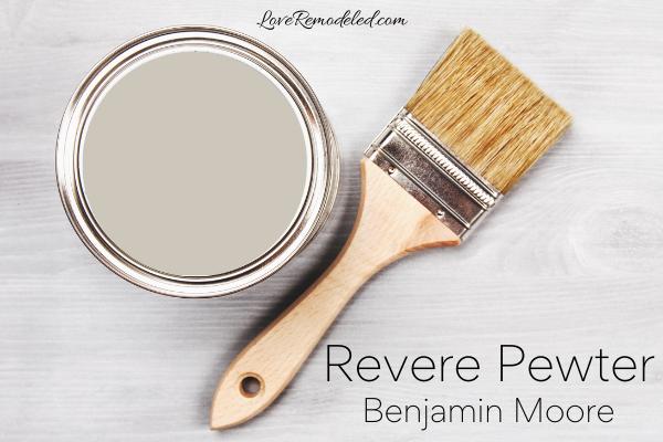Benjamin Moore Revere Pewter